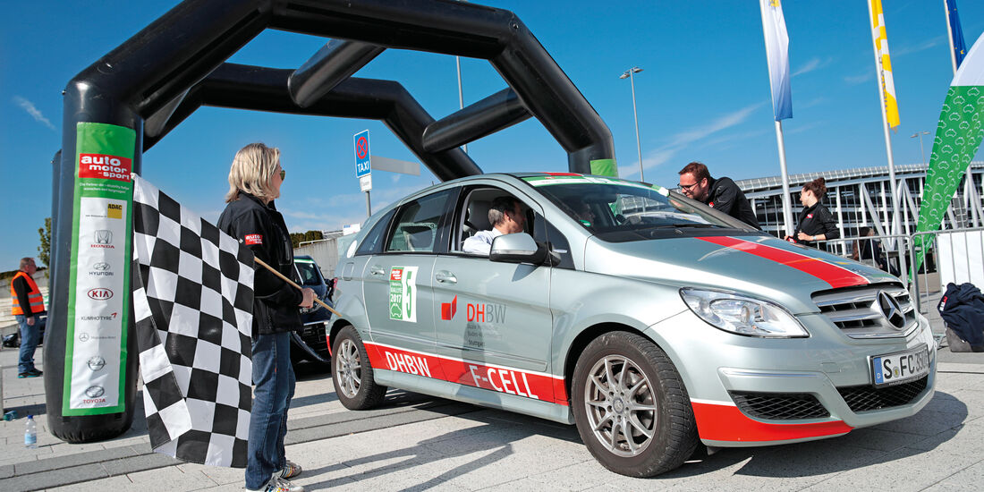 i-Mobility-Rallye, Teilnehmer, Impression