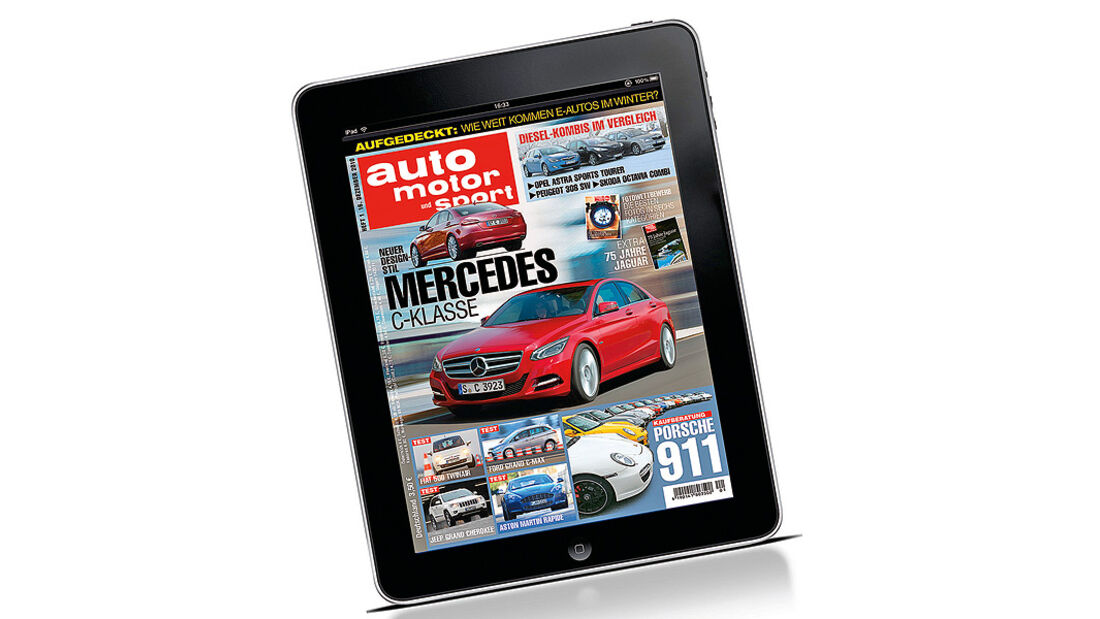 iPad auto motor und sport-App