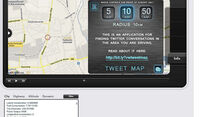 iPhone-App, VW App my Ride, Tweet Map