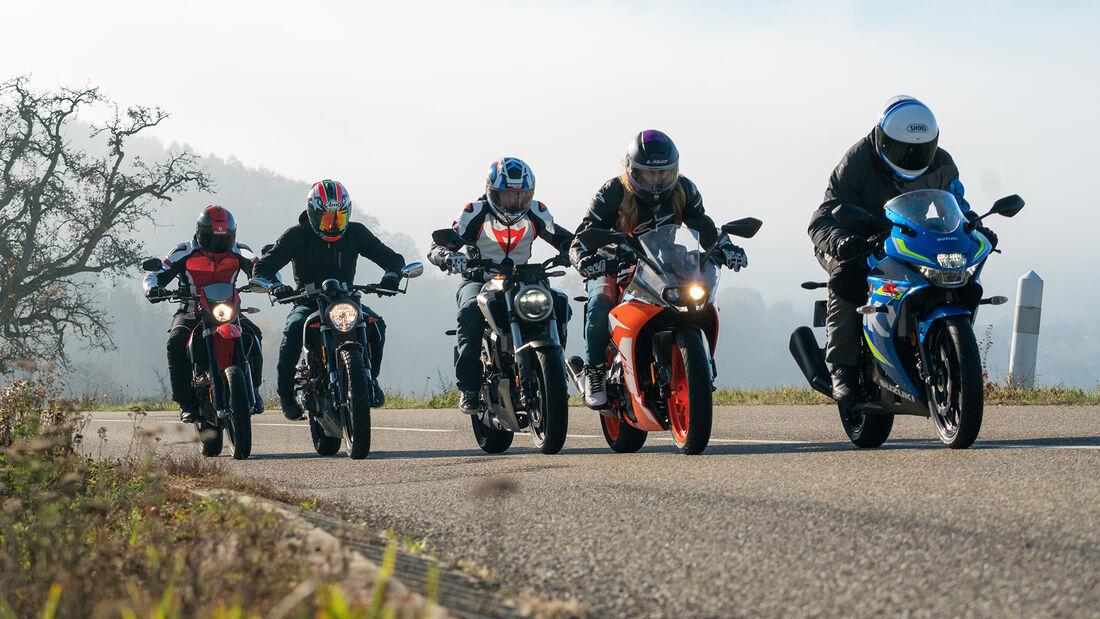 Neuer Motorradführerschein