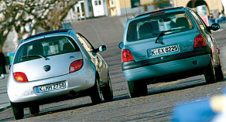 Doppeltest Renault Twingo Gegen Ford Ka