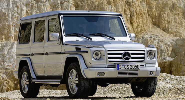 gebrauchtwagen mercedes g klasse im m ngelreport extrem gel ndeg ngig auto motor und sport. Black Bedroom Furniture Sets. Home Design Ideas