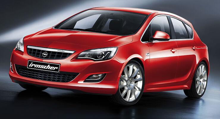 Irmscher opel astra irmscher astra deb tiert auf der iaa for Opel astra g interieurfilter