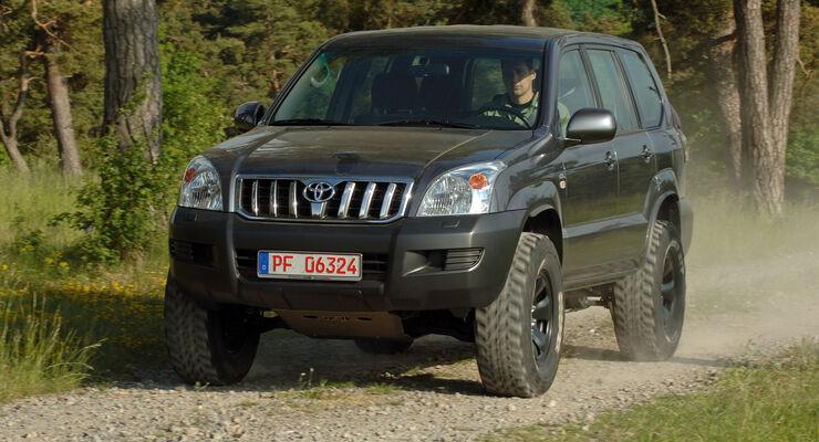 Fahrbericht Toyota Land Cruiser J12 Nestle Tuning Mit