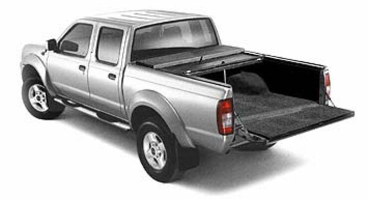Nissan PickUp Lade gut  AUTO MOTOR UND SPORT