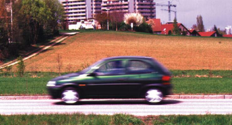 opel corsa 1.0 12v swing im test - auto motor und sport
