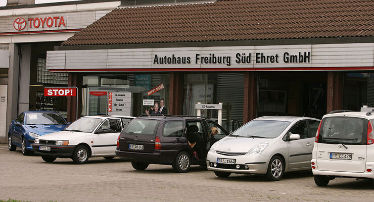 werkst ttentest toyota 2008 autohaus ehret in freiburg. Black Bedroom Furniture Sets. Home Design Ideas