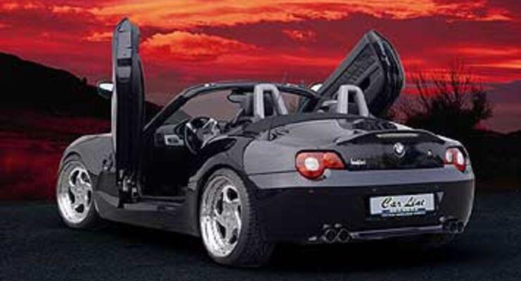 carline bmw z4 hoch die t ren auto motor und sport. Black Bedroom Furniture Sets. Home Design Ideas