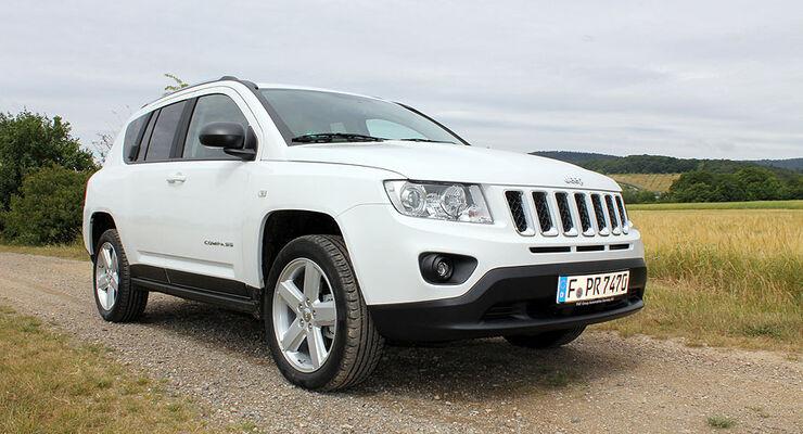 jeep compass 2.2 crd: fahrbericht mit dem neuen kompakt-jeep - auto