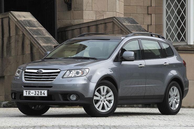Subaru Tribeca Technische Daten Zu Allen Motorisierungen Auto Motor Und Sport