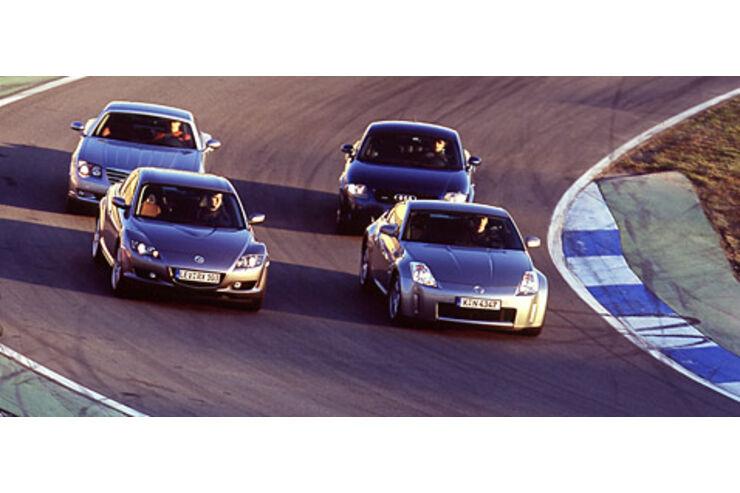 Der neue Mazda RX-8 gegen die Coupé-Konkurrenz - auto ...