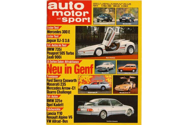auto motor und sport auto motor und sport heft 05 1985. Black Bedroom Furniture Sets. Home Design Ideas