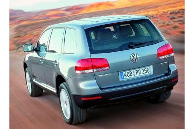 VW Touareg Diesel Zuheizer qualmt  AUTO MOTOR UND SPORT