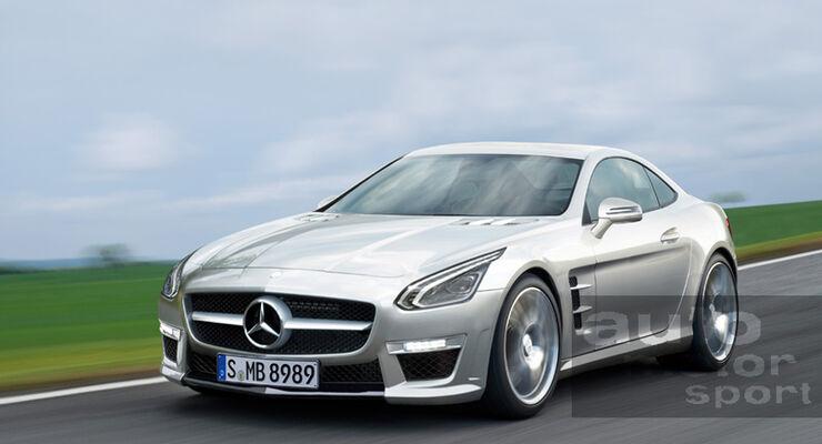 kleiner Mercedes SLS AMG