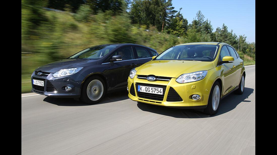lternativen Schaltgetriebe, Ford Focus