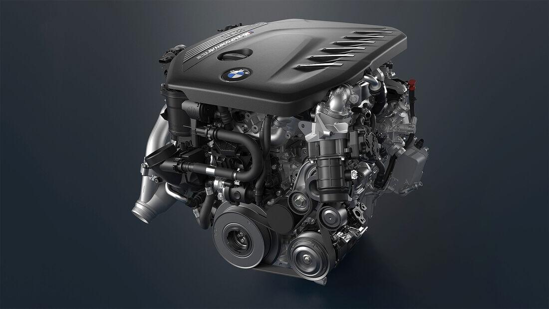 neue Sechszylinder Diesel BMW 7er