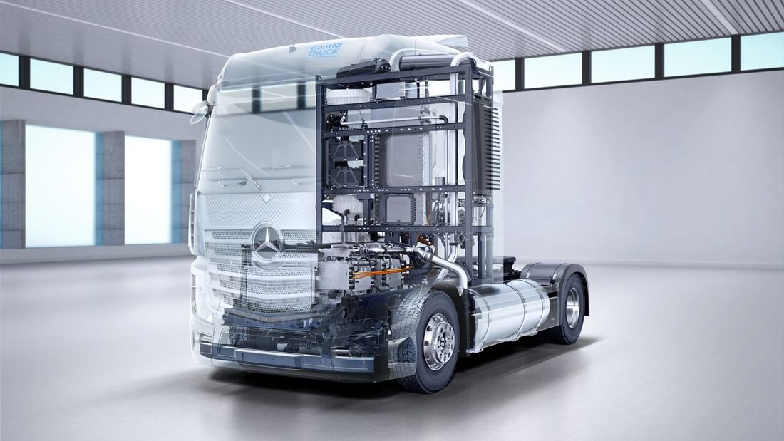 next level Mercedes-Benz GenH2 Truck