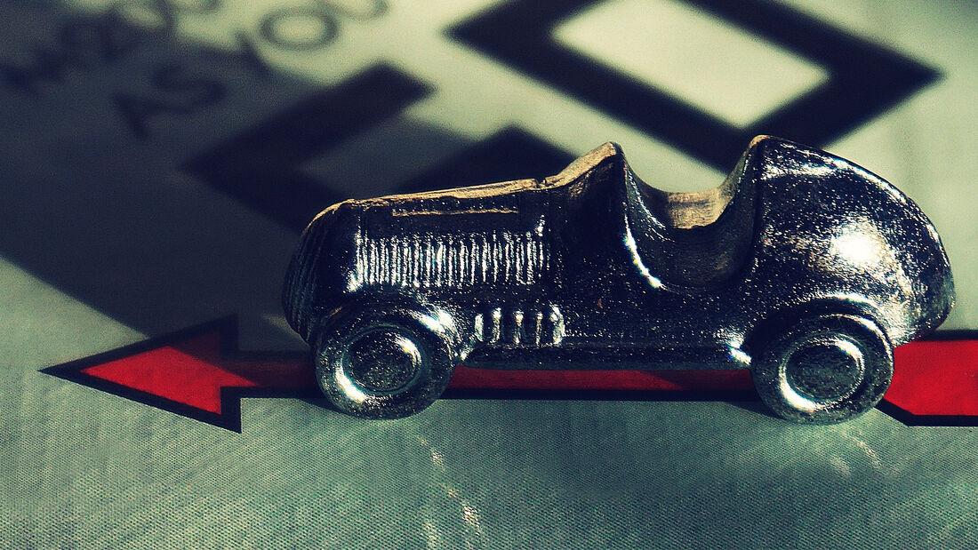 originale Monopoly-Auto-Spielfigur