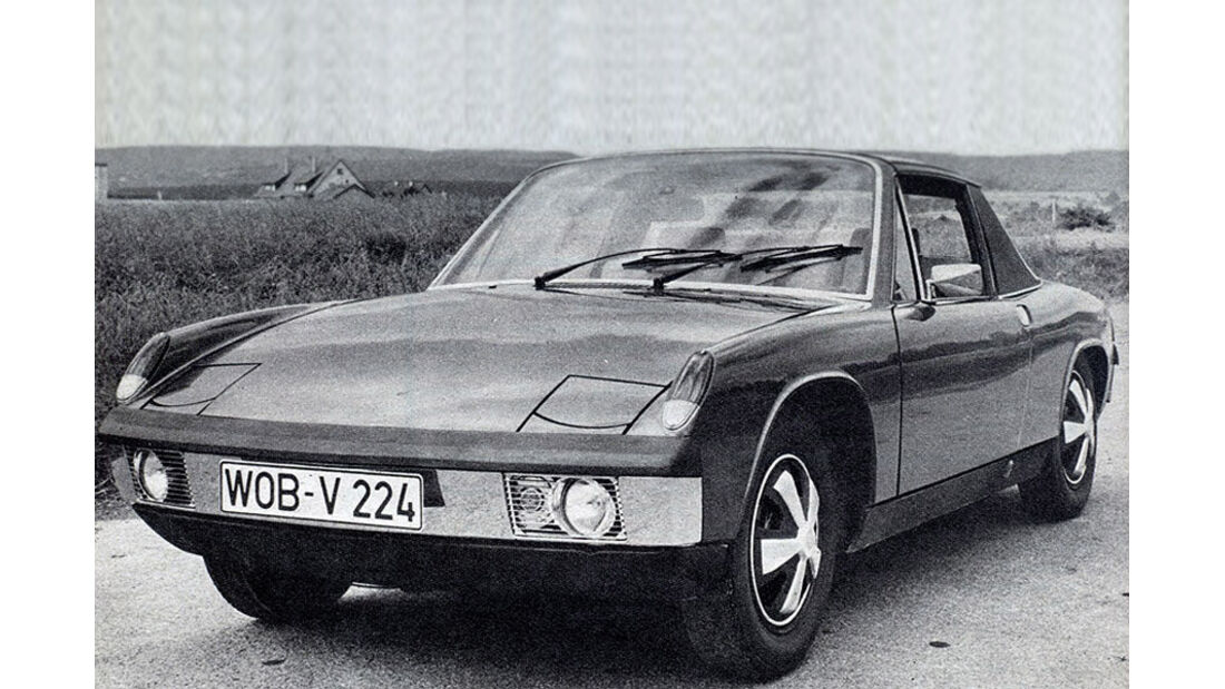 orsche, 914, IAA 1969