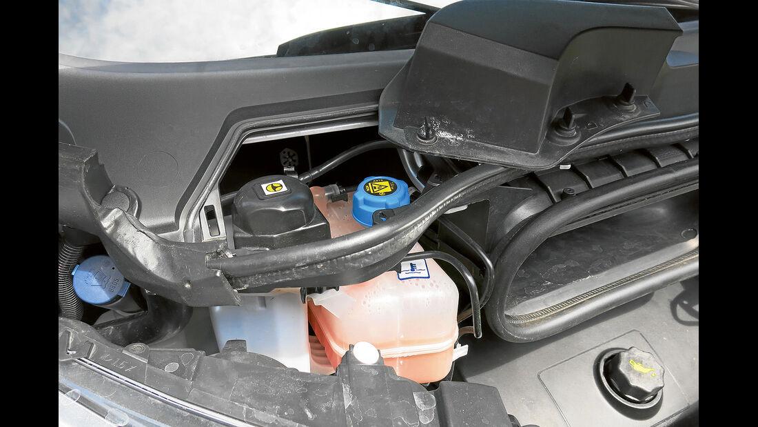 promobil Megatest 2014, Basisfahrzeuge, Fiat Ducato, Bremsflüssigkeit