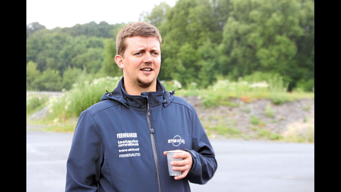 promobil Megatest 2014, Basisfahrzeuge, Markus Braun