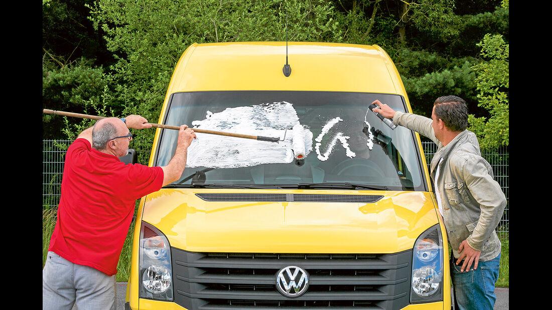 promobil Megatest 2014, Basisfahrzeuge, VW Crafter