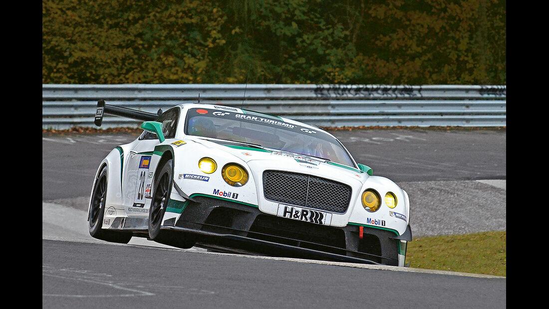spa0215, Heftvorschau, Bentley Cntinental GT3, Nürburgring