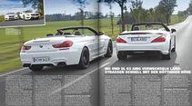 sport auto 01/2015, Screenshot, BMW M6 Cabrio, Mercedes SL 63 AMG