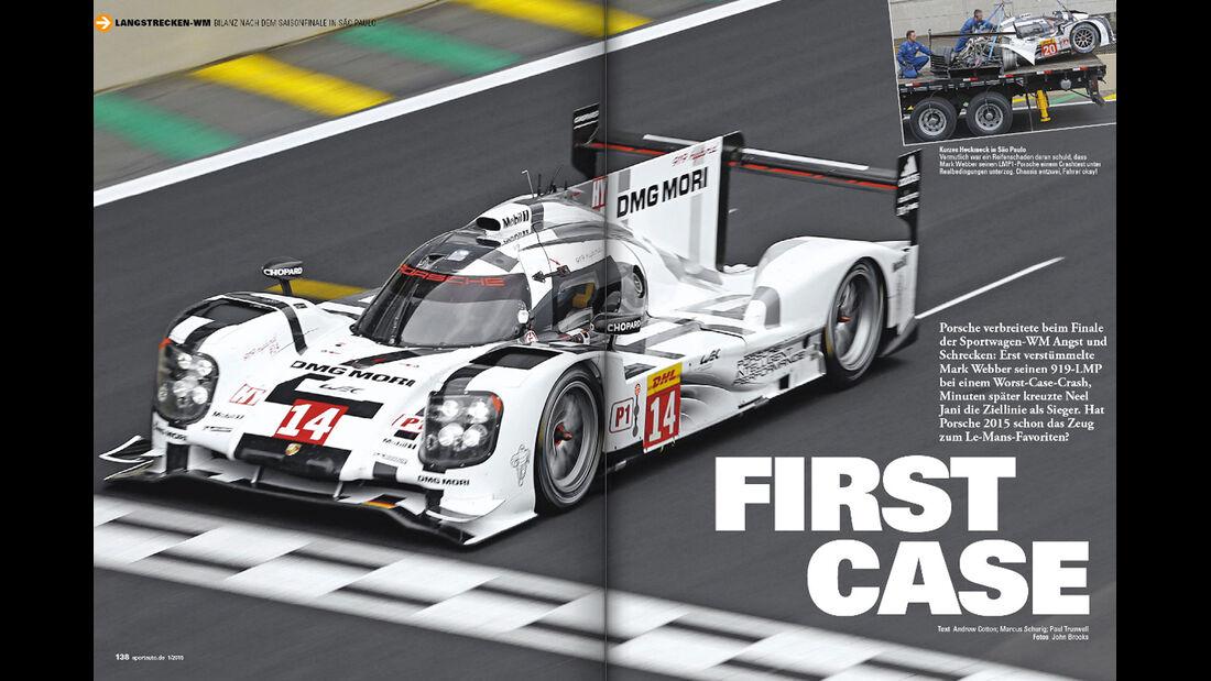 sport auto 01/2015, Screenshot, Heft