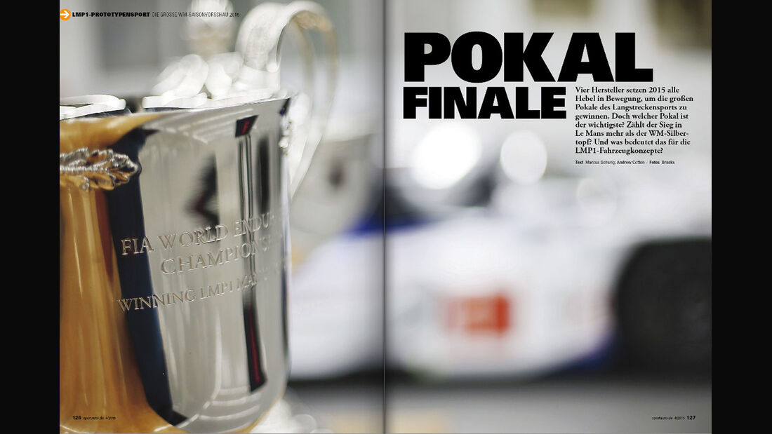 sport auto 04/15, Heftvorschau, FIA WEC, Sportwagen-WM