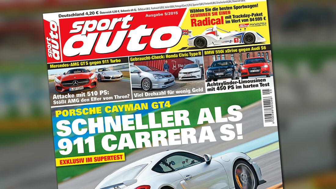 sport auto 05/15 - Titel - Heft