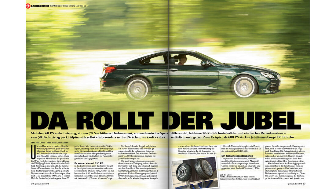 sport auto 08/15 - Heftvorschau - Screenshot