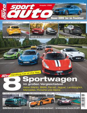sport auto 1/2019 - Cover