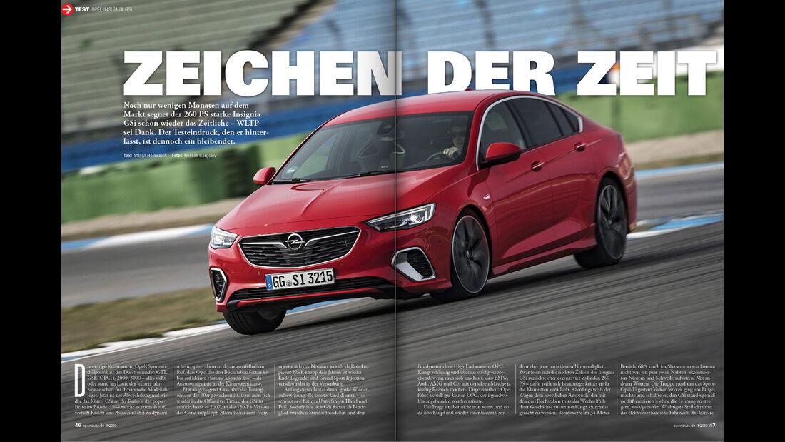 sport auto 1/2019 - Heftvorschau - Screenshot