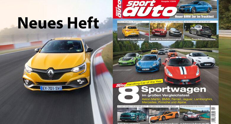 sport auto 1/2019 - Heftvorschau