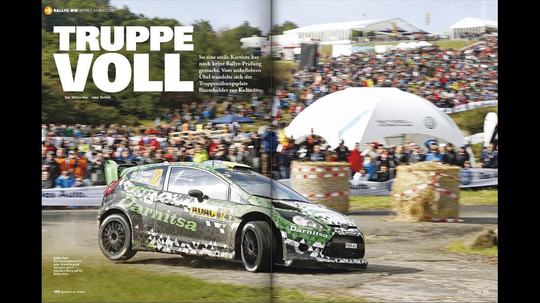 sport auto 10/2014, Heftvorschau, Heftinhalt