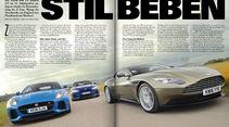 sport auto 10/2016 -Aston Martin DB11 - BMW M6 Competition - Jaguar F-Type SVR
