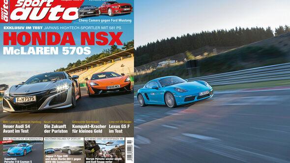 sport auto 10/2016 - Heft - Titel