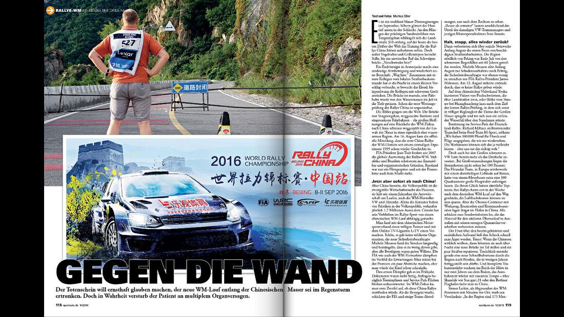 sport auto 10/2016 - Rallye-WM