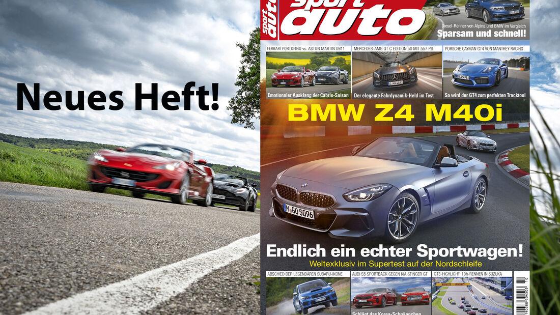 sport auto 10/2018 - Cover - Heftvorschau