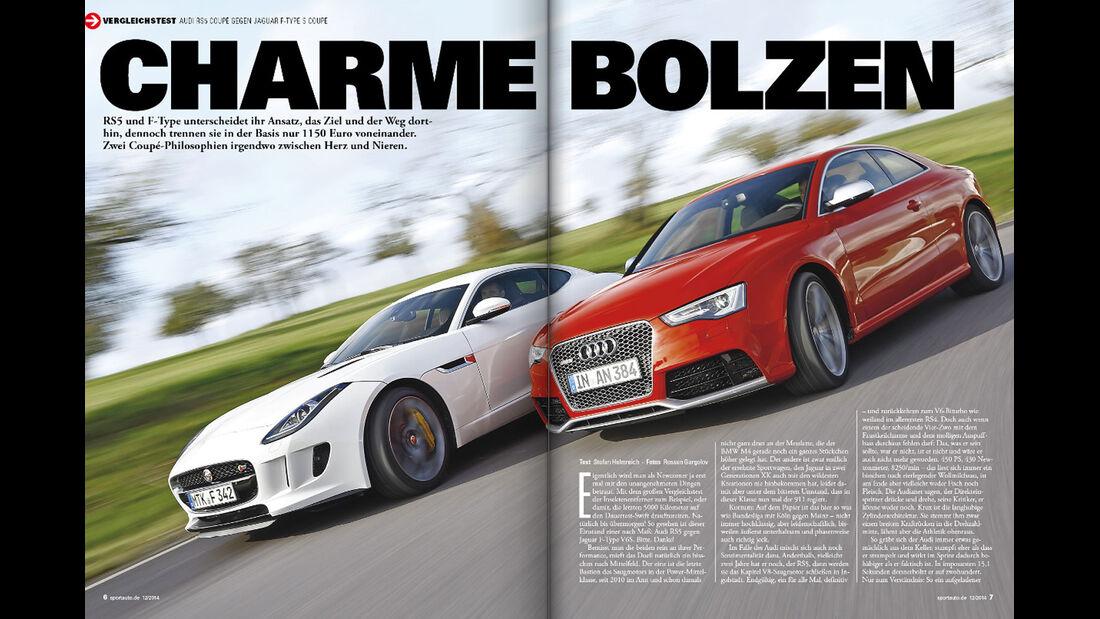 sport auto 12/2014, Heft, Vorschau, Screenshot