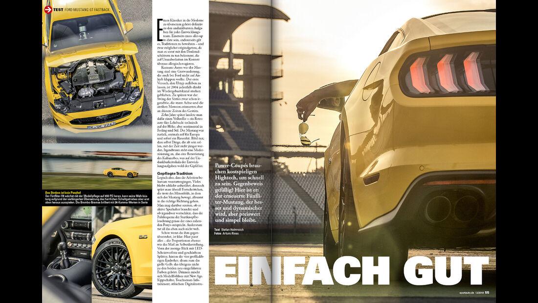 sport auto 12/2018 - Heftvorschau - Screenshot