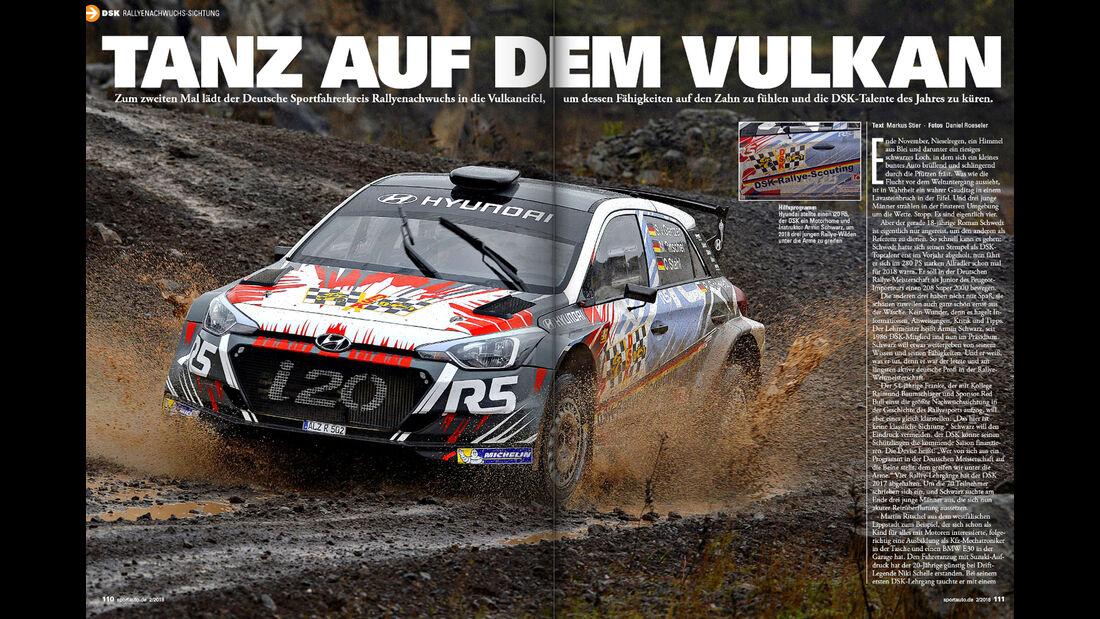 sport auto 2/2018 - Rallye - Nachwuchssichtung