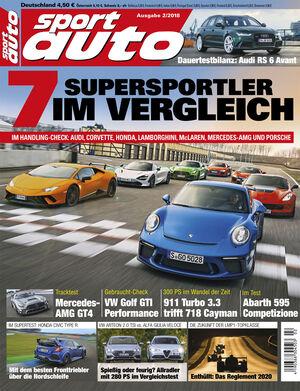 sport auto 2/2018 - Titel