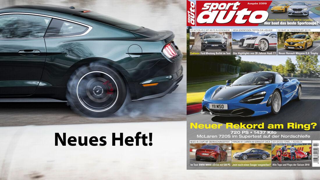 sport auto 2/2019 - Heftvorschau