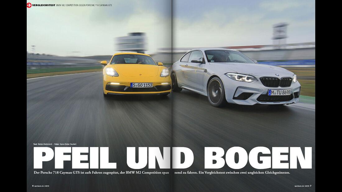 sport auto 2/2019 - Heftvorschau - Screenshot