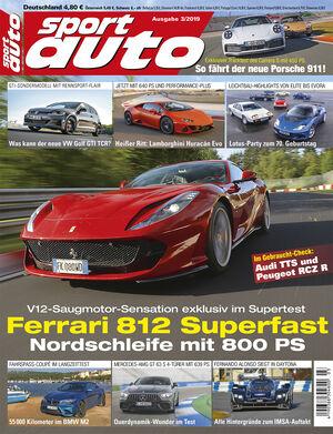 sport auto 3/2019 - Cover