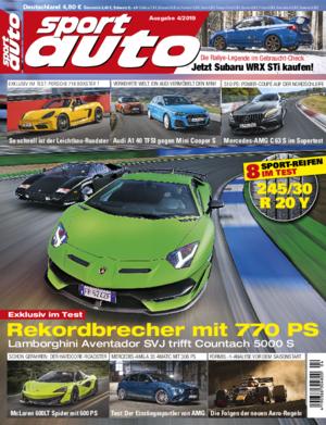 sport auto 4/2019 - Cover