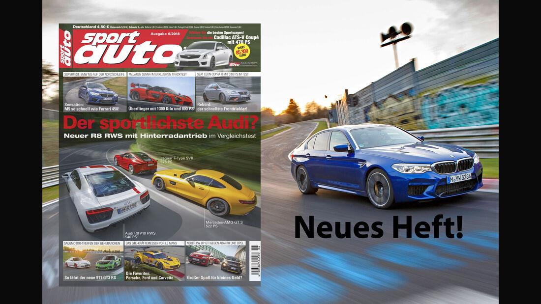 sport auto 6/2018 - Vorschau - Heft