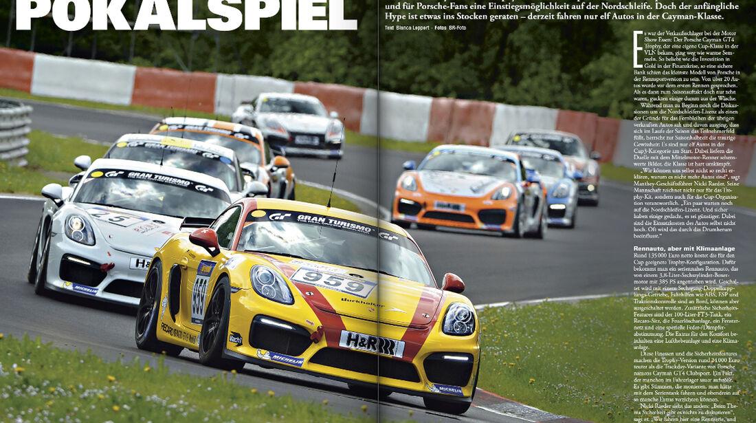 sport auto 9/2016 - VLN - Porsche Cayman GT4 Trophy